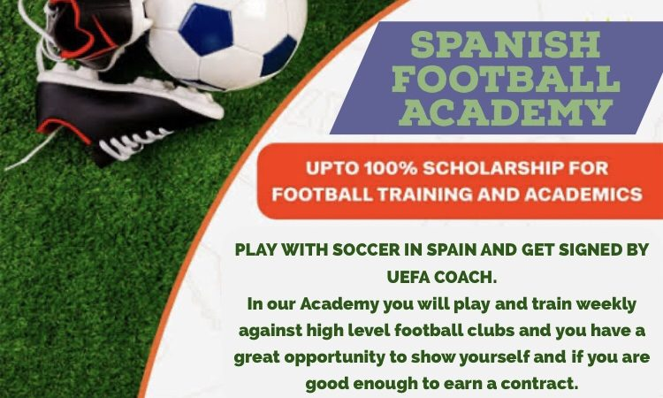 SPANISH FOOTBALL ACADEMY PLAY WITH SOCCER IN SPAIN AND GET SIGNED BY UEFA COACH.