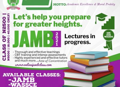 JAMB 2021 UTME/DE form officially out – See Registration & Exam Details